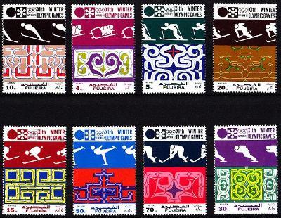 Fujeira 1971 Olympijské hry Sapporo 72
