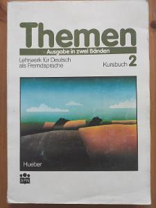 Themen 2 učebnice a pracovní sešit němčiny