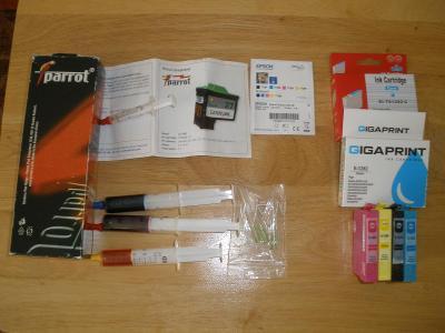 Tonery, barvy  do tiskáren / Epson,Lexmark