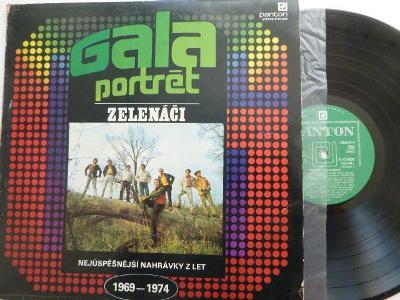 GALA PORTRÉT ZELENÁČI Nej nahrávky 1969-1974 HEJ,JOE Červená řeka KDYŽ