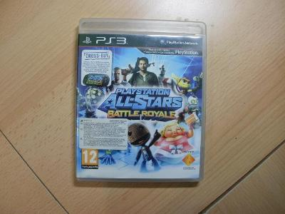 Hra na Ps 3 - Playstation - All - Stars Battle Royale - Český manuál