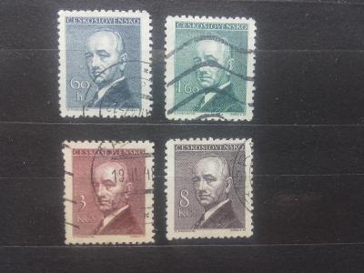 Československo 1946, Dr. Edvard Beneš -  443-446