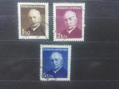 Československo 1948, Dr. E. Beneš - 464 - 466