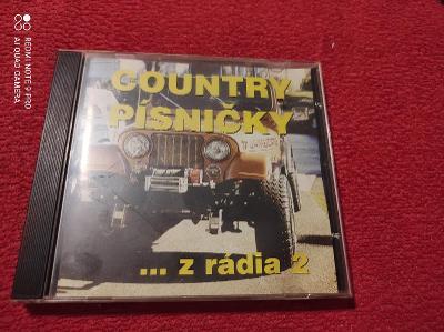 Country písničky z rádia 2 cd