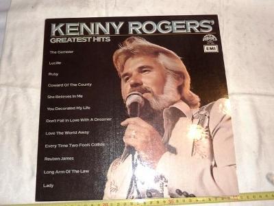 KENNY  ROGERS   ... LP deska .. vinyl .. pěkný stav 99%