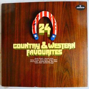 24 Country and Western Favourites - dvojalbum kompilace 1969 mercury
