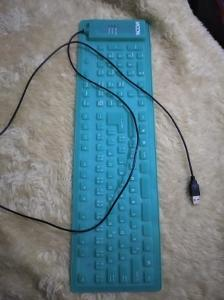 Gumová klávesnice na USB NEFUNKČNÍ
