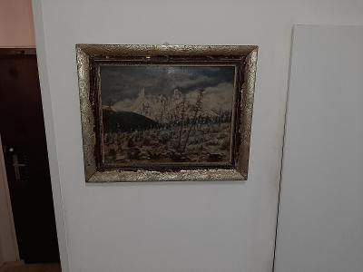 obraz olejomalba hory