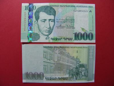 1.000 Dram 2015 Armenia - P59 - UNC -  /B13/