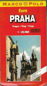 PRAHA - TURISTICKÁ MAPA