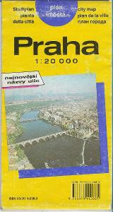 PRAHA - PLÁN MĚSTA (1994)