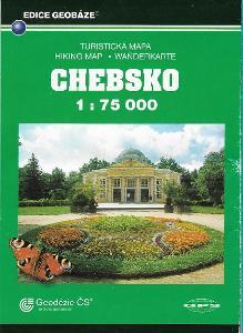 CHEBSKO - TURISTICKÁ MAPA