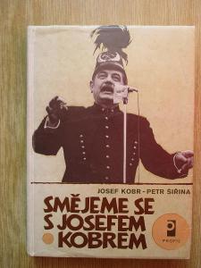Kobr Josef - Smějeme se s Josefem Kobrem (1. vydání)
