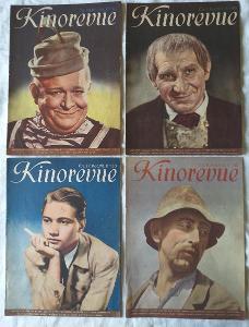 5* časopis Kinorevue r.1941 a r.1943