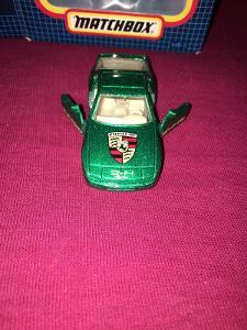 PORSCHE 944 TURBO MATCHBOX GREEN METALIC