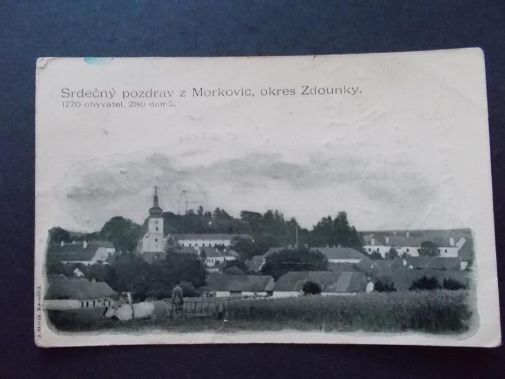 Zlín Kroměříž  Zdounky Morkovice DA - Pohlednice
