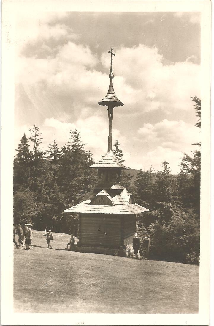 PUSTEVNY - zvonička - Beskydy - Vsetín - Pohlednice