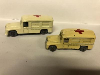 Matchbox RW 14a + 14b Daimler Ambulance !!!