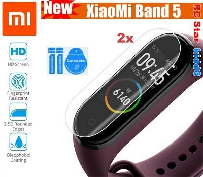 NEW - 2ks Ochranná fólie pro Xiaomi Mi Band 5