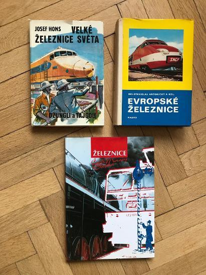 Velké železnice světa / Evropské železnice / Železnice Čech, Moravy... - Knihy