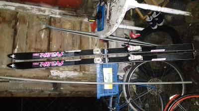 Sjezdové lyže starší Kneissl freestar pro 192cm