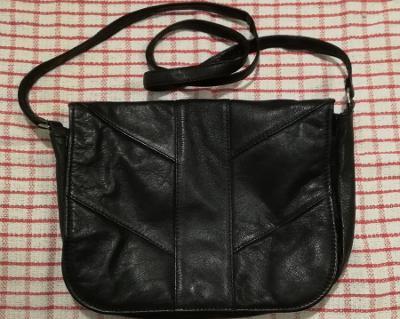 Kožené retro kabelky 2 x + pláštěnka