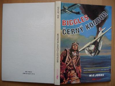 Biggles - Černý kondor - William Earl Johns - RIOPRESS 1993