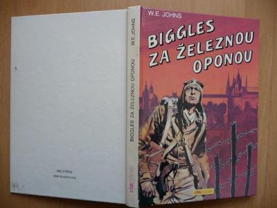 Biggles za železnou oponou - William Earl Johns - RIOPRESS 1993