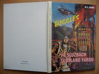 Biggles ve službách Scotland Yardu - William Earl Johns -RIOPRESS 1993