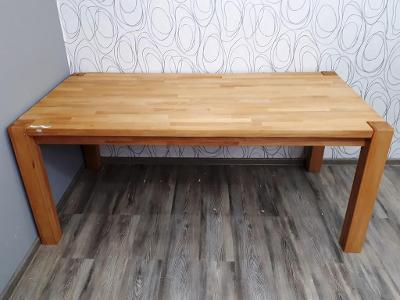 Jídelní stůl buk masiv (21737B) DOPRAVA ZDARMA