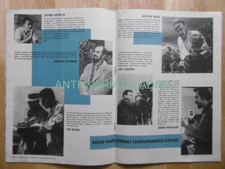 NOVINKY ÚSTŘEDNÍ PŮJČOVNY FILMŮ, ÚPF 2. , 1959, FILM , HERCI, HÖGER,AJ - Knihy