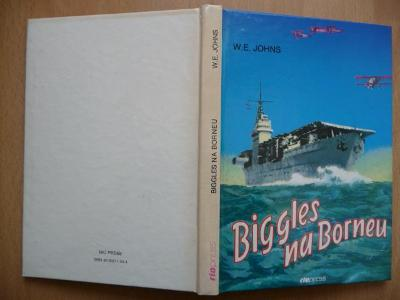 Biggles na Borneu - William Earl Johns - RIOPRESS 1993