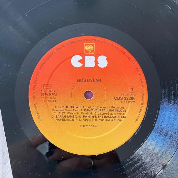 Bob Dylan – Dylan - LP vinyl - Hudba