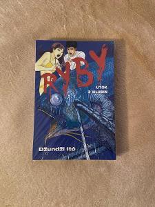 Manga komiks Ryby - Útok z hlubin