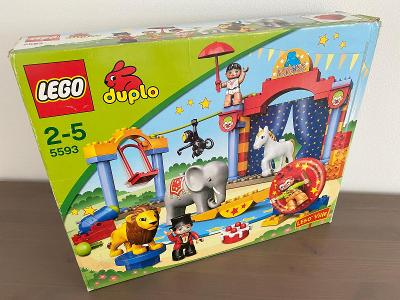 Lego duplo 5593 - Velký cirkus
