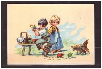 pohlednice- velký formát-dětské