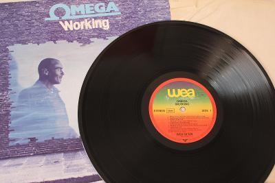 Ωmega – Working LP 1981 vinyl Germany 1.press super stav EX+ Omega