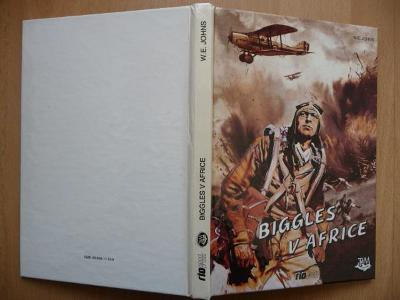 Biggles v Africe - William Earl Johns - RIOPRESS 1992