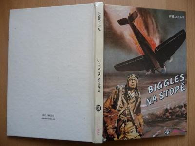 Biggles na stopě - William Earl Johns - RIOSPORT-PRESS 1993