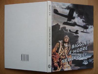 Biggles a modré nebezpečí - William Earl Johns - Toužimský 1994
