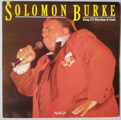 LP SOLOMON BURKE - KING OF THE RYTHM AND SOUL(1988) AMIGA EX++ TOP!!
