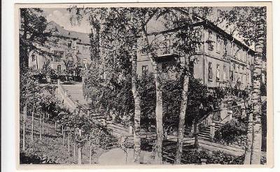 Plzeň Lochotín partie park cca 1936