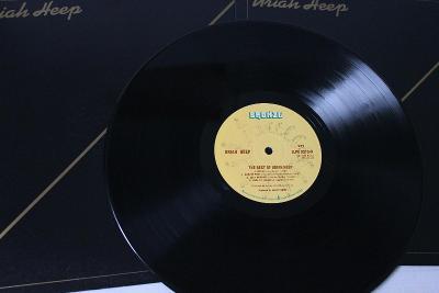 Uriah Heep – The Best Of...LP 1976 vinyl Israel 1.press jako nove NM