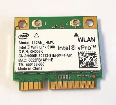 Wifi modul 0H006K / 512AN_HMW z Dell Latitude E4300