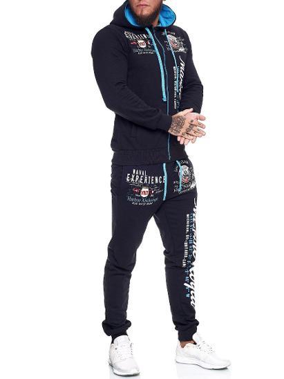 PÁNSKÁ SPORTOVNÍ TEPLÁKOVÁ SOUPRAVA OneRedox vel:L - Pánské oblečení
