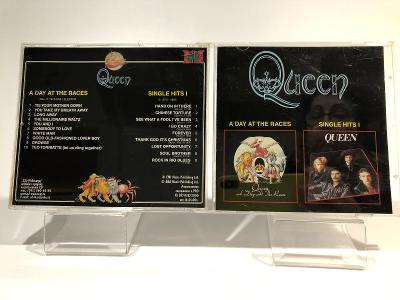 CD -  QUEEN * A DAY AT THE RACES /SINGLE HITS I