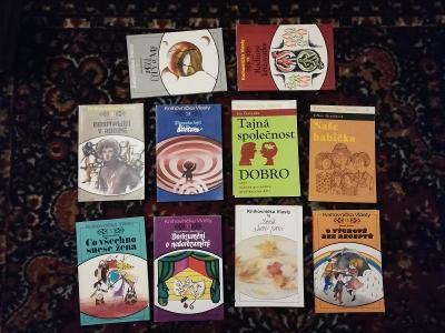 Knihovnička VLASTY - celkem 12 sešitů