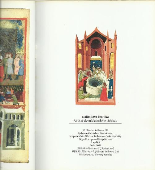 Dalimilova kronika - pařížský zlomek latinského překladu (2005) - Knihy