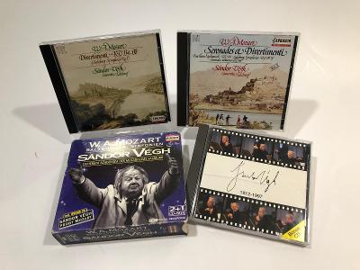 CD W.A.Mozart -  Salzburger Sinfonien -Sándor Végh - 3 x CD