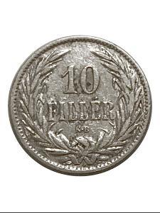 10 FILLÉR 1895 Rakousko-Uhersko  KB